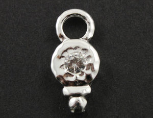 Sterling Silver Fancy Charm -- SS/CH11/CR10 - Beadspoint