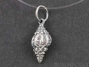 Sterling Silver Gorgeous Sea Shell Charm  -- SS/CH7/CR36 - Beadspoint
