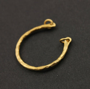 24K Gold Vermeil Over Sterling Silver Charm  -- VM/6430 - Beadspoint