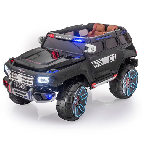 SPORTrax Rescue 12 Volt Kid's Ride On Truck - Royalty Wheels
