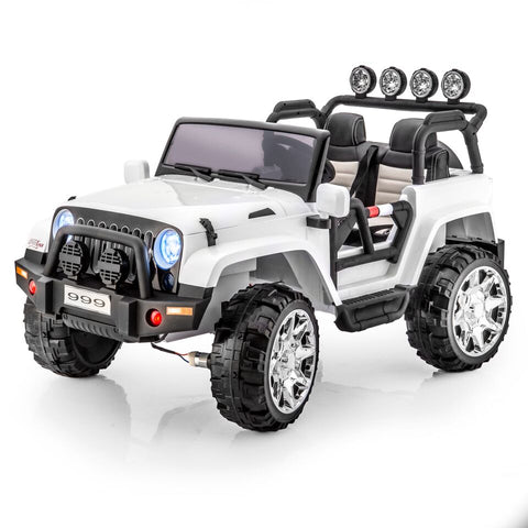 SPORTrax Thar 2 Kid's 4WD 2 Seater Ride On Vehicle - Royalty Wheels