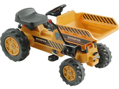 Kalee Pedal Tractor with Dump Bucket - Royalty Wheels