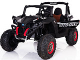Mini Moto 12v 4WD UTV 2 Seater Kid's Ride On Car - Black - Royalty Wheels