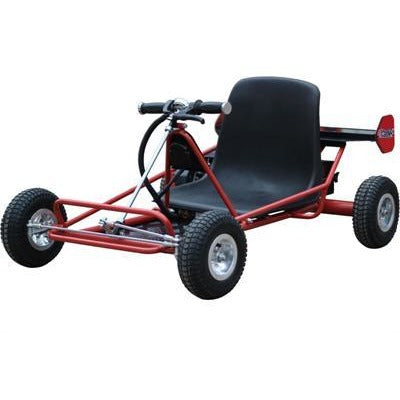 MotoTec Solar Electric Go Kart 24v - Royalty Wheels