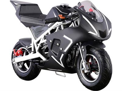 MotoTec Cali Gas Pocket Bike 40cc 4-Stroke - Royalty Wheels