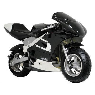 MotoTec Gas Pocket Bike 33cc 2-Stroke - Royalty Wheels
