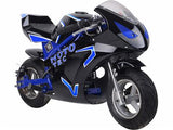 MotoTec Gas Pocket Bike GT 49cc 2-Stroke - Royalty Wheels