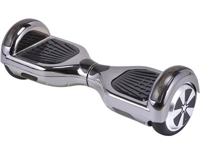 MotoTec Hoverboard Scooter 24v 6.5in Chrome (Bluetooth) - Royalty Wheels