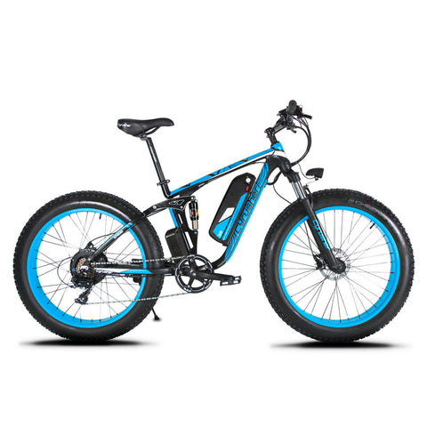 Cyrusher XF800 1000W Fat Tire Electric Bike - Royalty Wheels