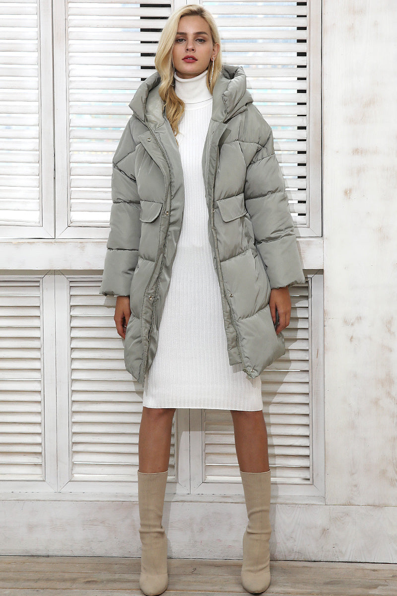 Winter Padded Hooded Coat