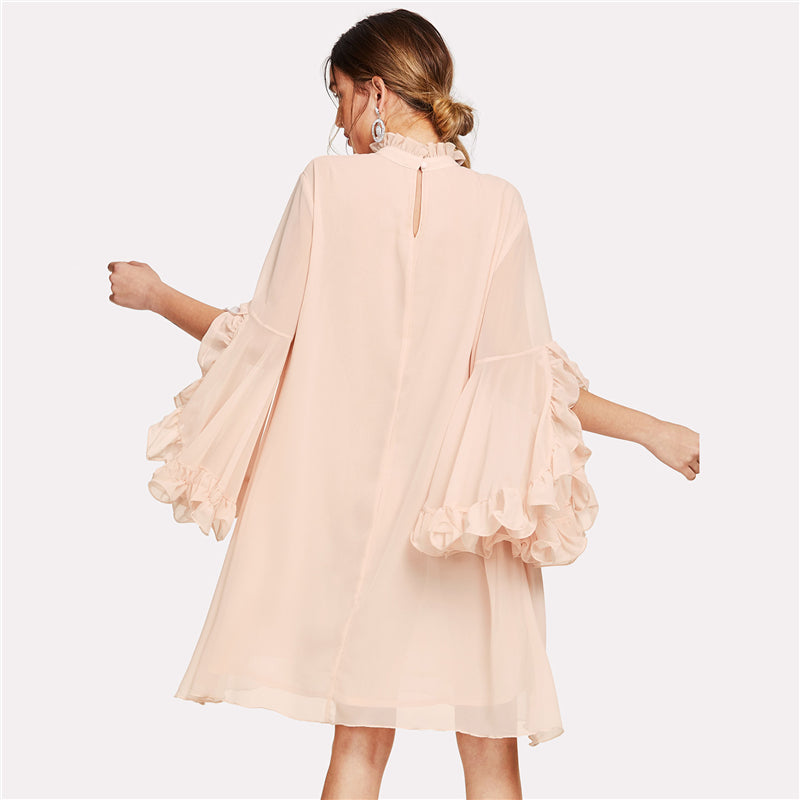 Flowy Chiffon Elegant Dress