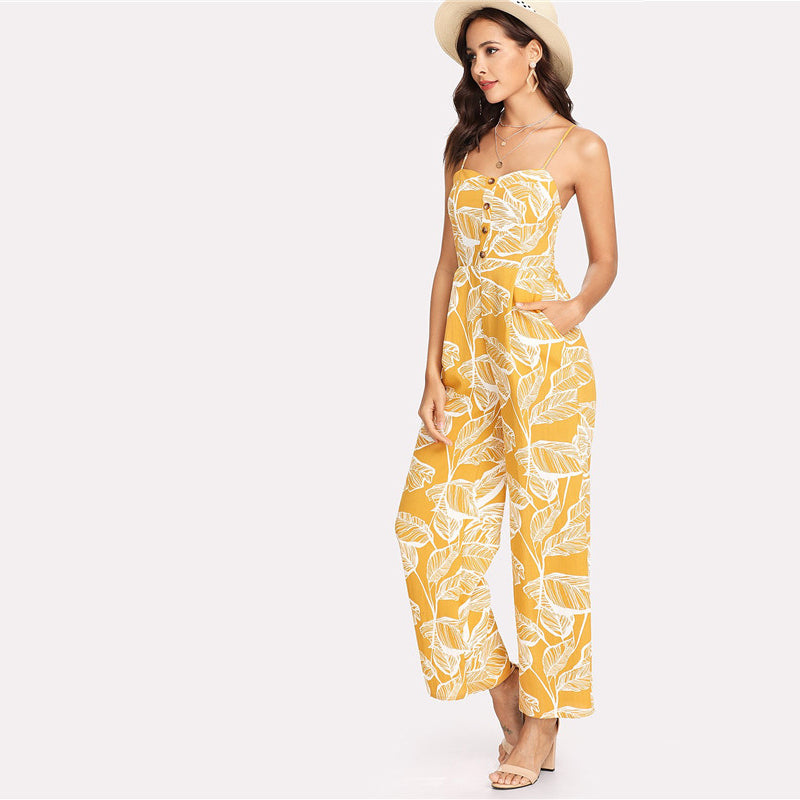 Summer Bright Jumpsuit