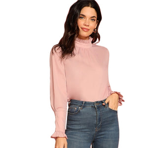 Pink Turtle Neck Sweater