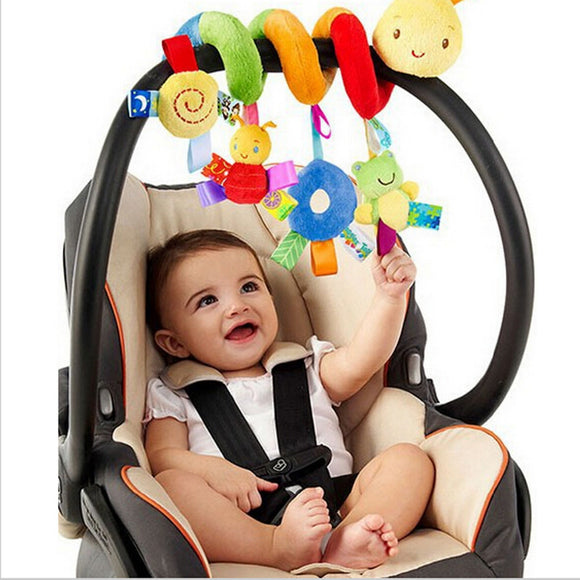 Spiral Stroller Toy/Mobile - Insects