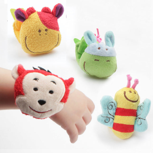 Wearable Plush Rattles