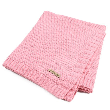 Knitted Acrylic Blankets (various colours)