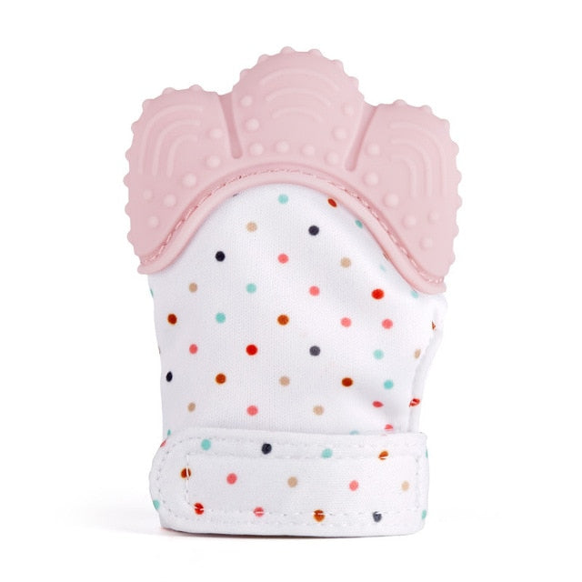 Silicone Teething Mitt