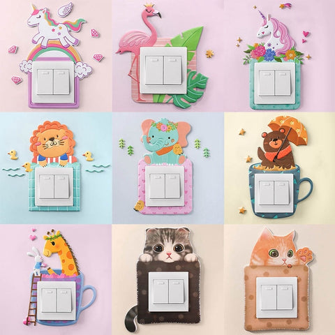 Animal Light Switch/Outlet Covers