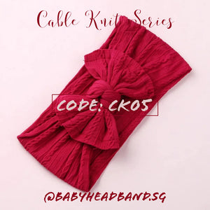 Cable Knit Series [INSTOCK]