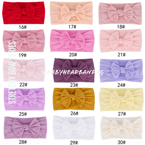 Stretchy Bow Series[INSTOCK]