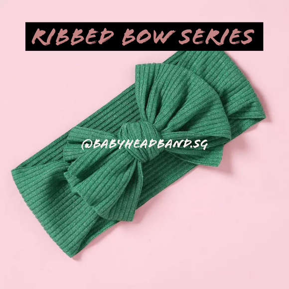 Ribbed Bow Series [INSTOCK]