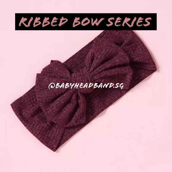 Ribbed Bow Series [PO]