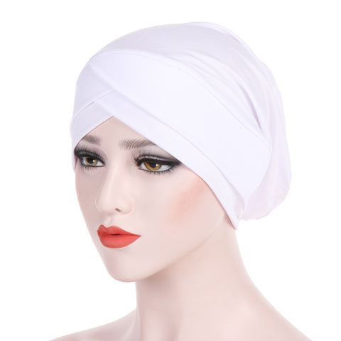 Simple cross turban