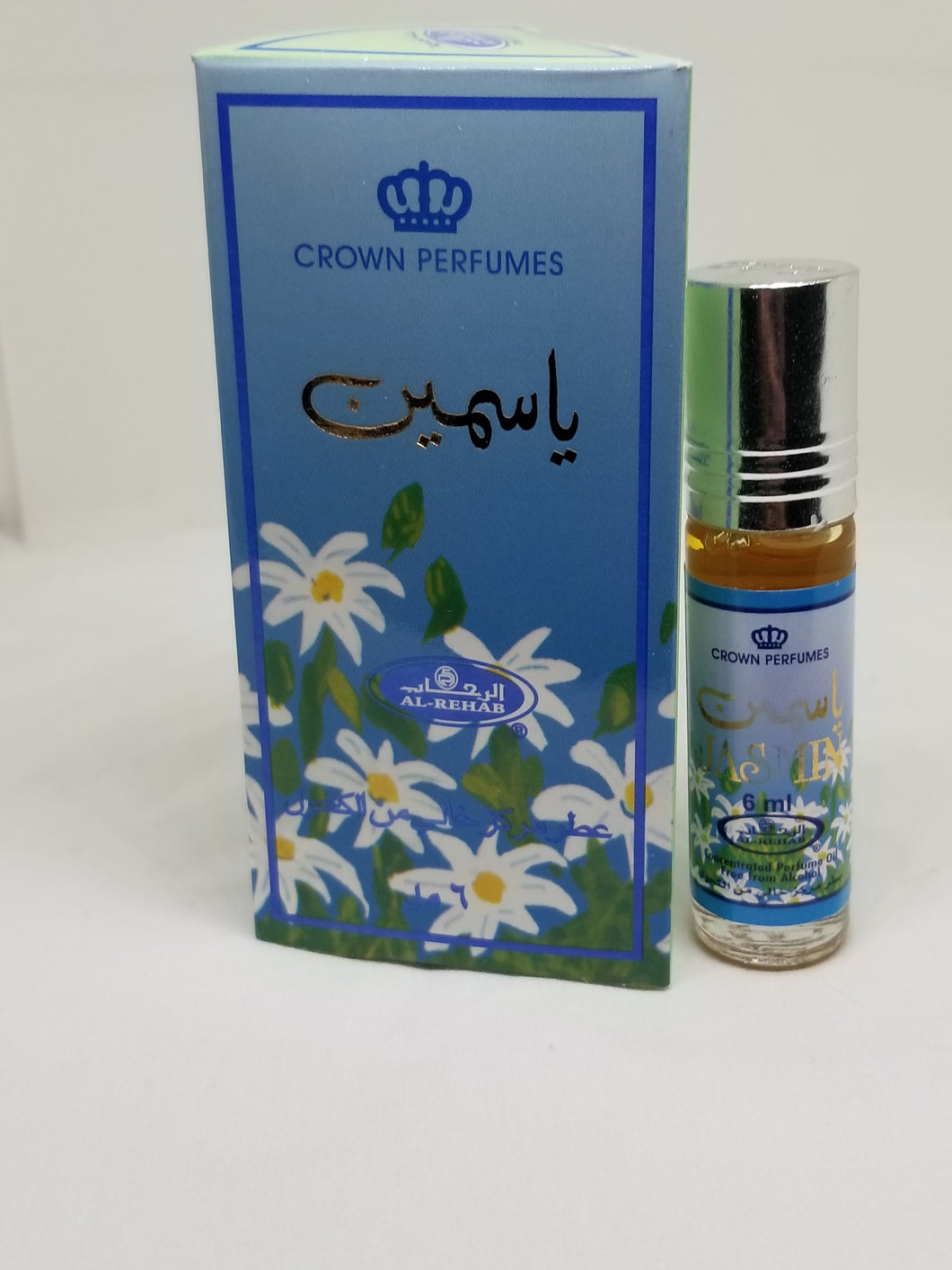 Al rehab jasmin oil 6ML roll on ياسمين