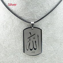 Load image into Gallery viewer, Allah Stainless Steel Pendant Rope chain