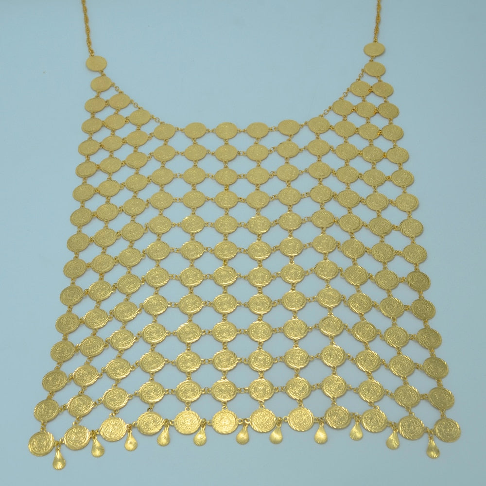 Coin Big Necklace