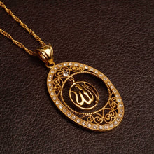 Load image into Gallery viewer, Allah pendant with chain