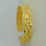 Bangle for Women/Girl Gold Color Dubai Trendy Bracelet