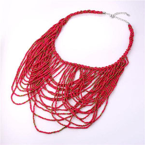 Beads Multilayers Necklace