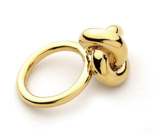Gold Knotting Ring