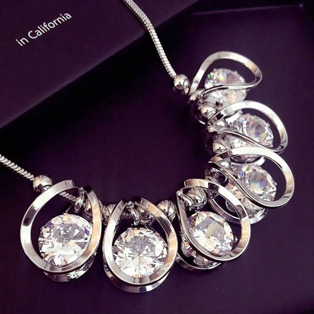 European Crystal Necklace