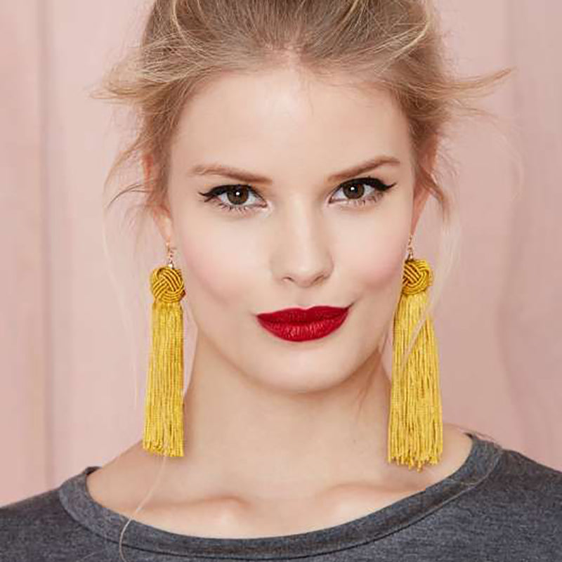 Tassel Knot Earrings