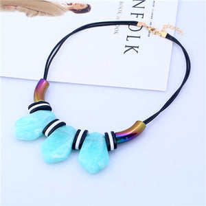 Ethnic Bohemian Rope Necklace