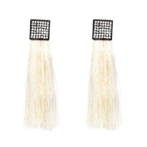 Boho Ethnic Style Long Tassel Earrings
