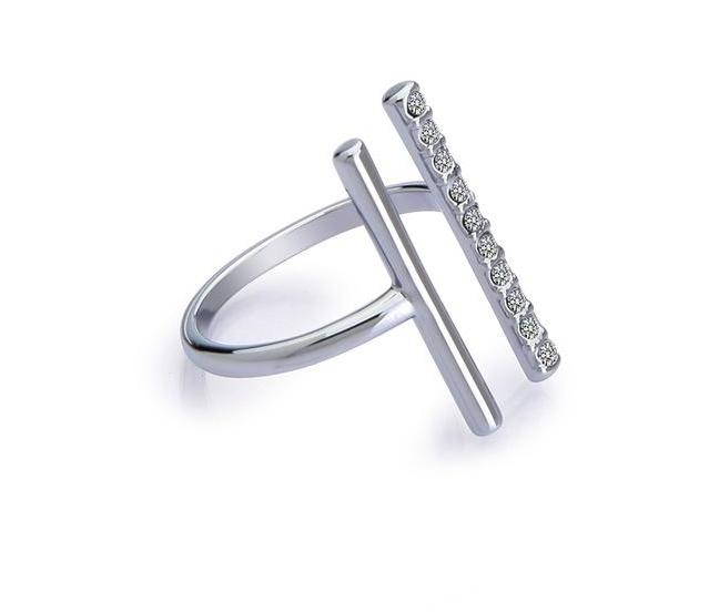 Parallel Lines Knunkle Ring