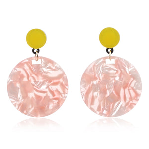 Acrylic Summer Drop Earrings