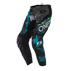 ONEAL ELEMENT VILLAIN GREY YOUTH PANTS (SIZE: 5/6)