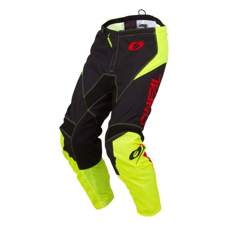 ONEAL ELEMENT RACEWEAR ADULT PANTS NEON YELLOW (SIZE: 40)