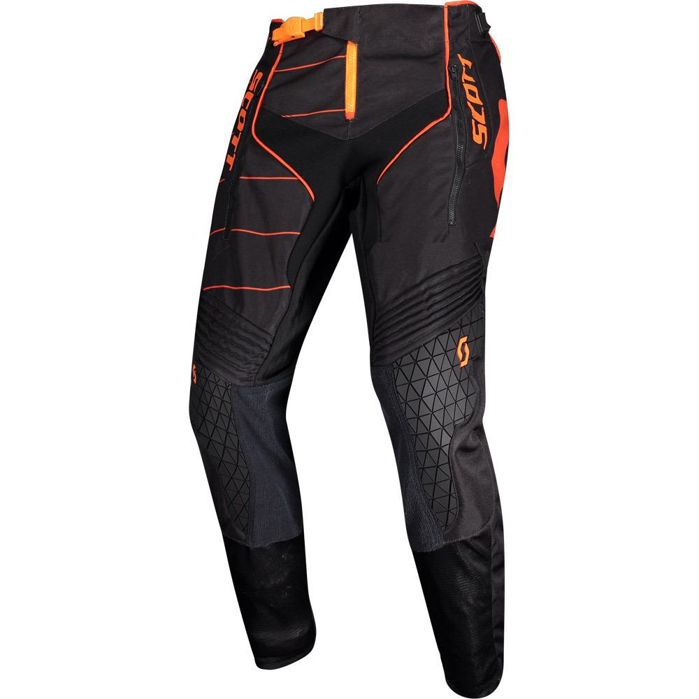 SCOTT ENDURO BLACK/ORANGE ADULT PANTS (SIZE: 38)