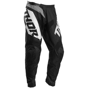 THOR S20 YOUTH SECTOR BLADE BLACK/WHITE PANTS (SIZE:22)