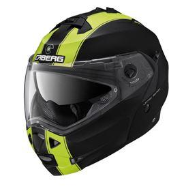 CABERG DUKE II LEGEND MATTE BLACK/YELLOW FLURO HELMET