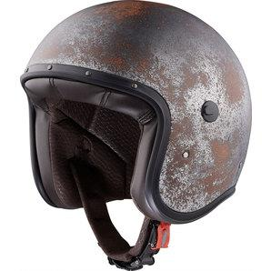 CABERG JET FREE RIDE BLACK RUSTY HELMET