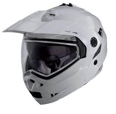 CABERG TOURMAX WHITE METAL HELMET