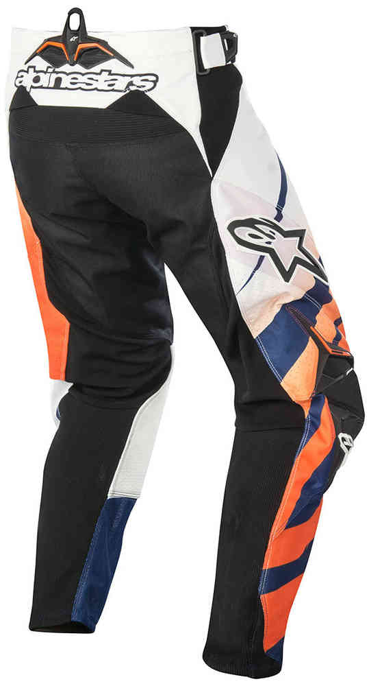 ALPINESTARS 2016 TECHSTAR VENOM PANT ORANGE/WHITE/NAVY