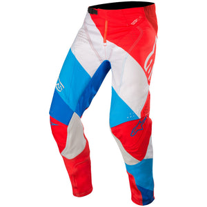 ALPINESTARS 2019 TECHSTAR VENOM RED/WHITE/BLUE PANTS