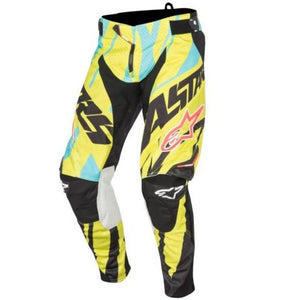 ALPINESTARS 2015 TECHSTAR PANT TOMAC LIMITED EDITION BLACK/LIME